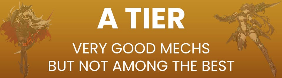 Iron Saga Tier List A Tier