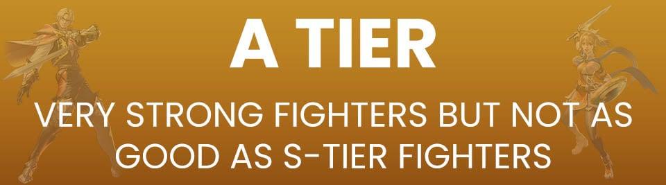 Soulcalibur VI Tier List Tier A
