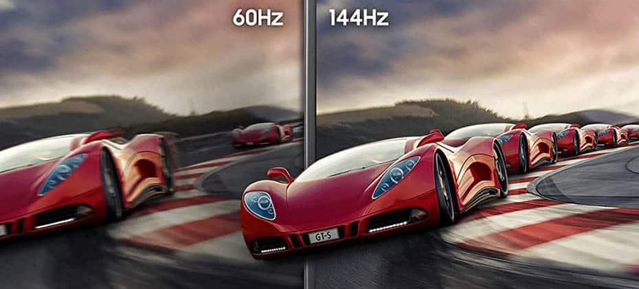 60Hz vs 144Hz Monitor