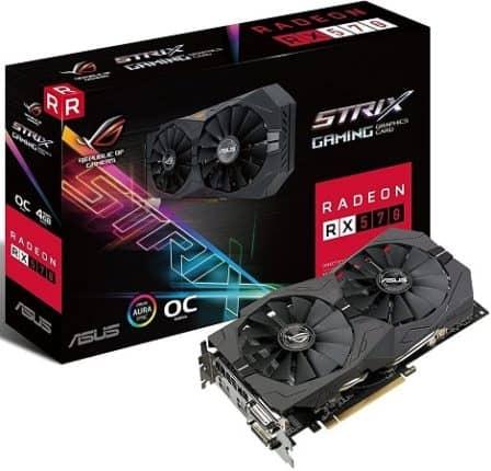 ASUS Radeon RX 570 Strix Gaming OC
