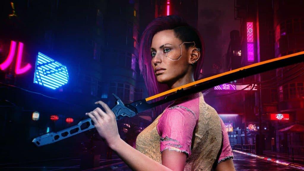 Cyberpunk 2077 Black Unicorn Sword
