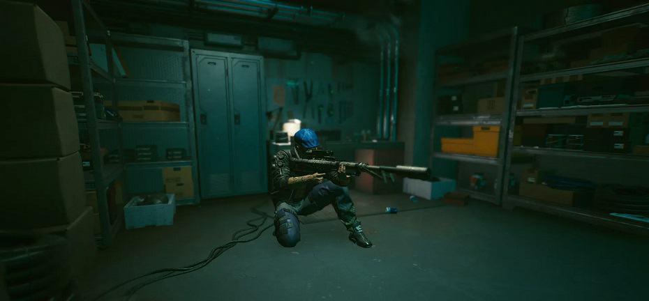 Cyberpunk 2077 Sniper Rifle