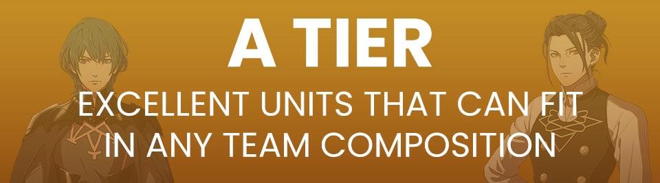 Fire Emblem Three Houses Tier List A Tier