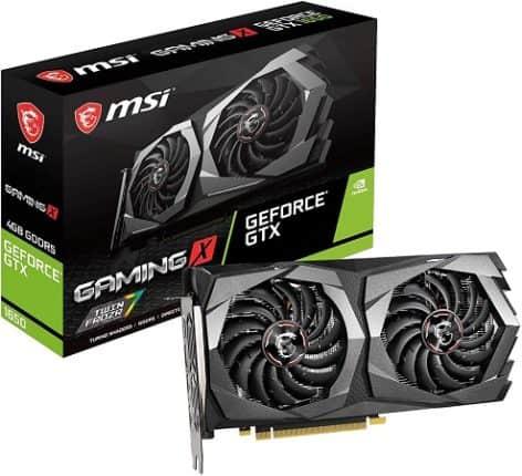 MSI GeForce GTX 1650 GAMING X (4 GB)