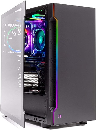 SkyTech Shadow Gaming PC Side