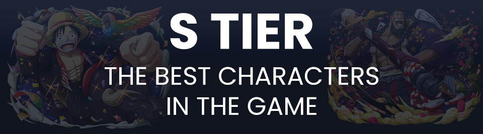 One Piece Treasure Cruise Tier List Tier S