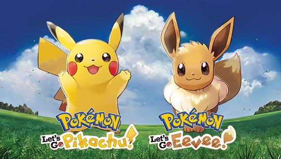 Pokémon Let's Go Pikachu and Eevee