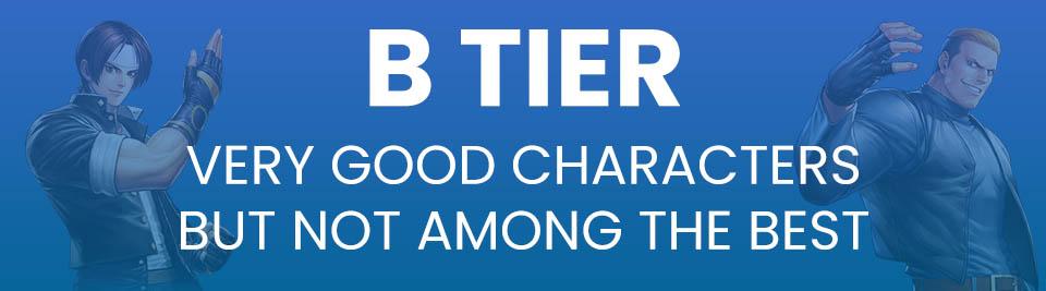 The King of Fighters ALLSTAR Tier List Tier B