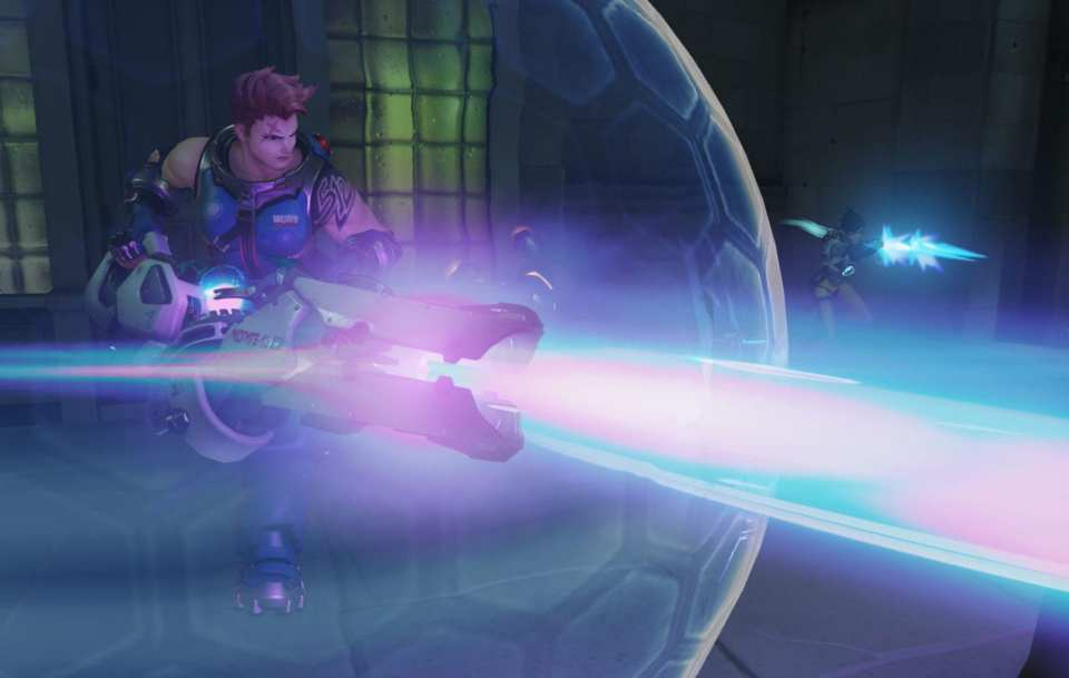 Zarya Particle Barrier
