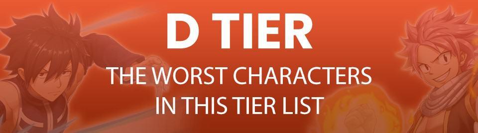 D Tier