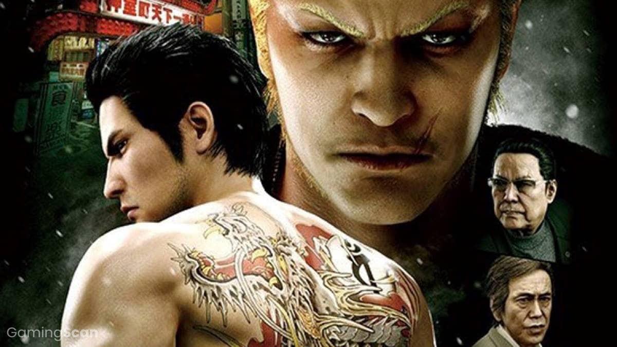 Yakuza Games in Order