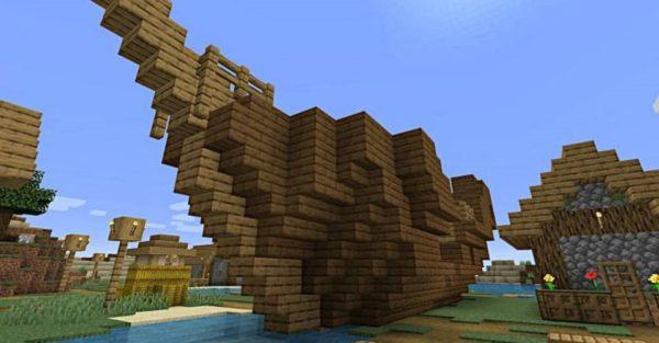 Shipwrecks and Village