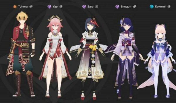 New Story Characters