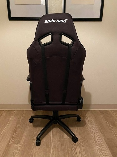 AndaSeat T Compact Gaming Chair Behind