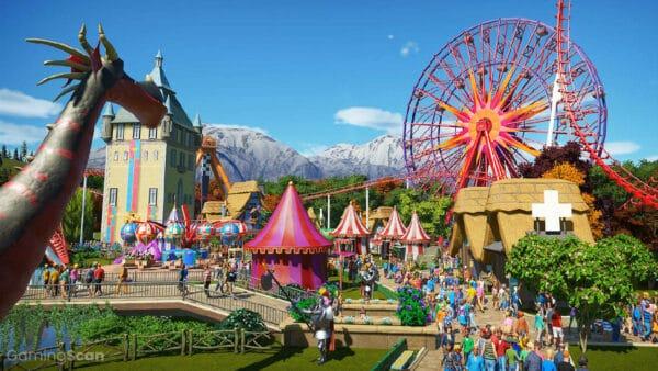 Best Theme Park Games