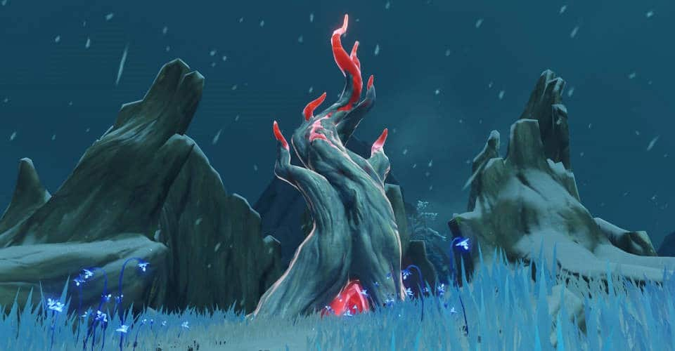 Genshin Impact Frostbearing Tree