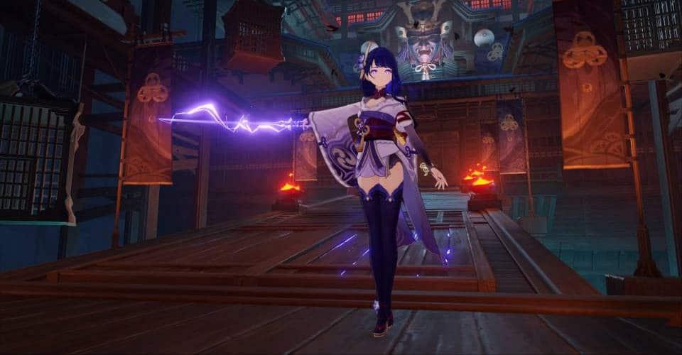 Genshin Impact Raiden Shogun Team