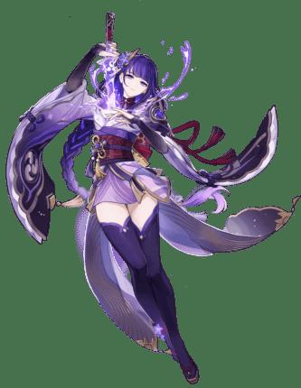 Raiden Shogun Genshin Impact