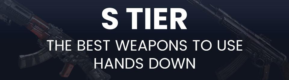 Call of Duty Vanguard Weapon Tier List S