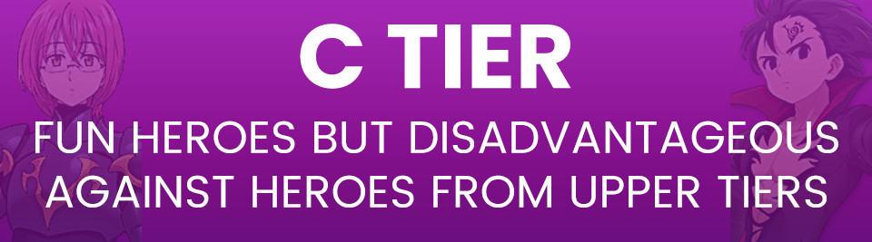 Seven Deadly Sins Grand Cross Tier List C Tier